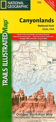 National Geographic Trails Illustrated Map Canyonlands National Park By National Geographic Maps